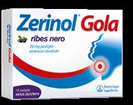 ZERINOL GOLA RIBES*18PAST 20MG - Farmajoy