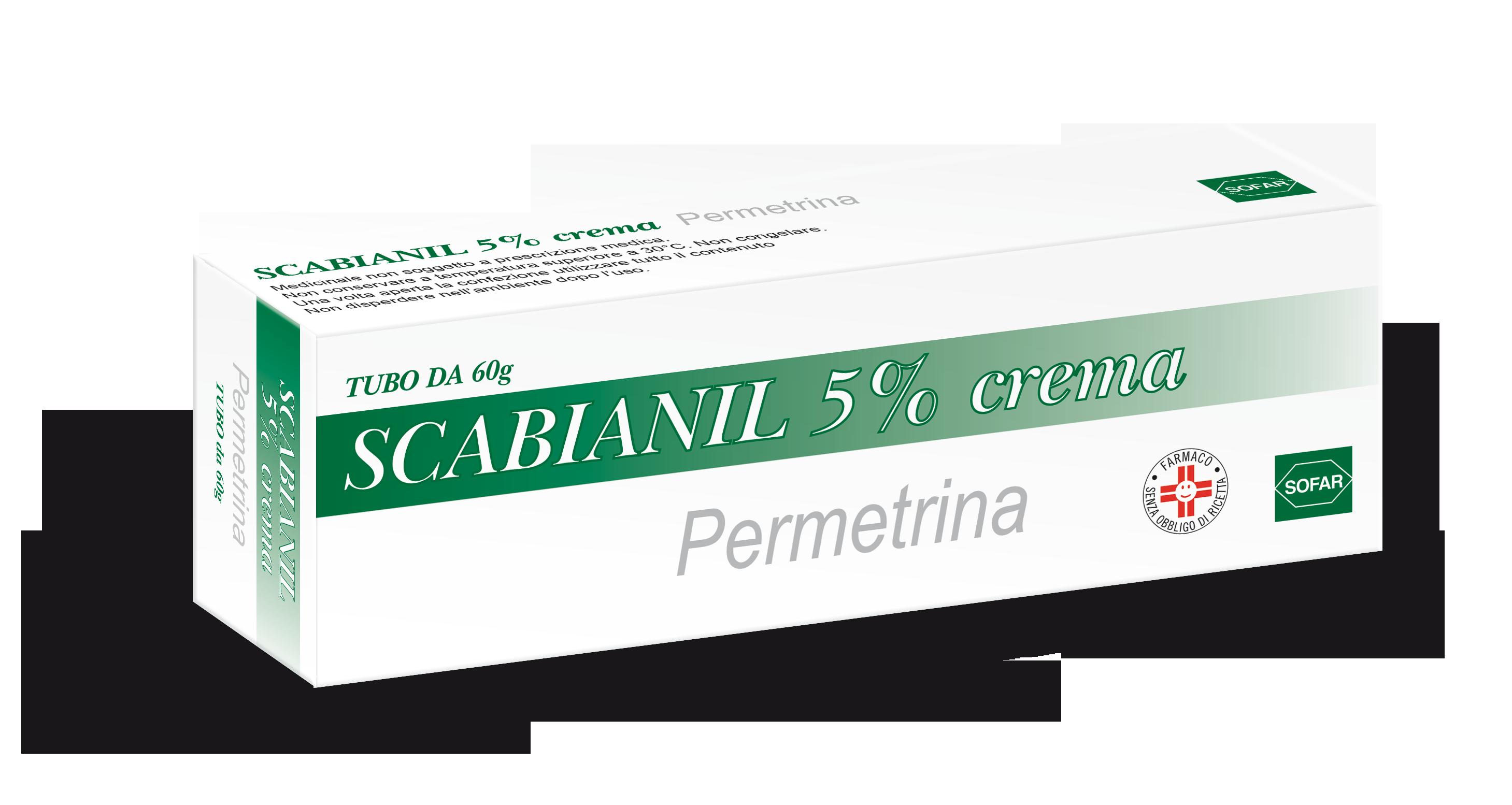 SCABIANIL*CREMA 60G 5% - Turbofarma.it