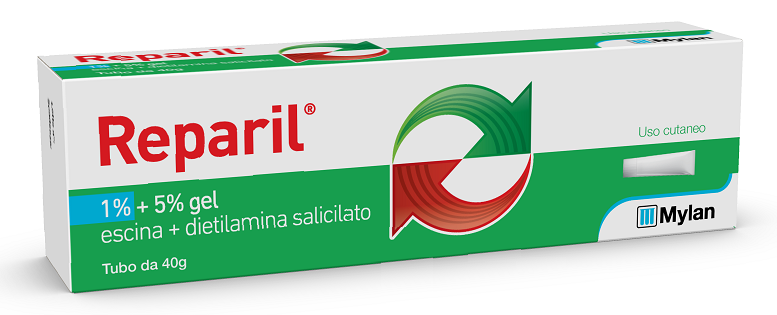 REPARIL GEL CM*40G 1%+5% - Spacefarma.it