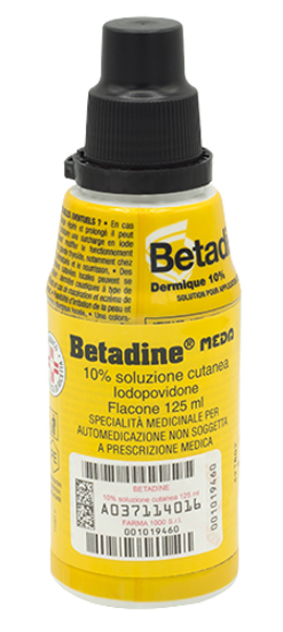 BETADINE*SOLUZ CUT 125ML 10% - Farmawing