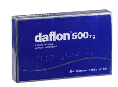 DAFLON*30CPR RIV 500MG - Spacefarma.it