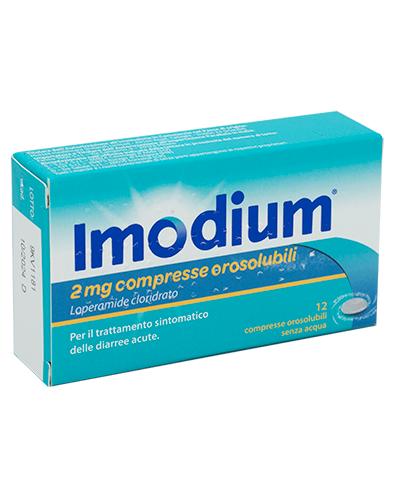 IMODIUM*12CPR OROSOL 2MG - Farmapage.it