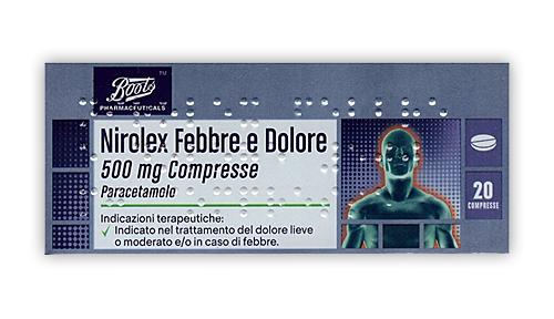 NIROLEX FEBBRE DOL*20CPR 500MG - Nowfarma.it