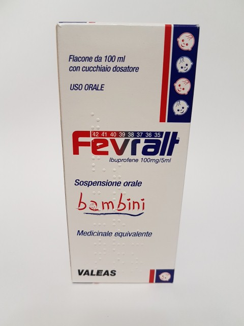 FEVRALT*BB OS SOSP 100MG/5ML - Farmastop