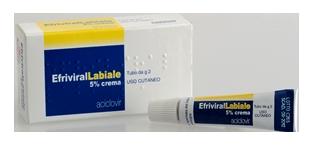 Aesculapius Efriviral Labiale Crema 2g 5% - Farmapage.it