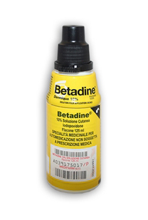 BETADINE*SOLUZ CUT 125ML 10% - Farmastar.it