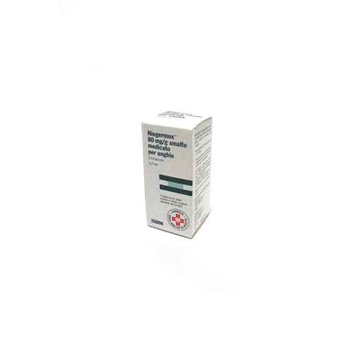 NIOGERMOX*SMALTO UNGHIE 3,3ML - pharmaluna