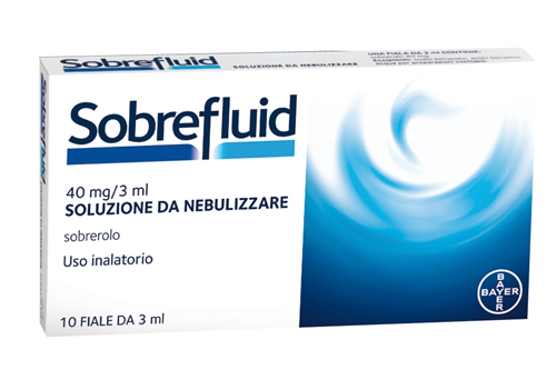SOBREFLUID*NEBUL 10F 40MG 3ML - Farmaunclick.it