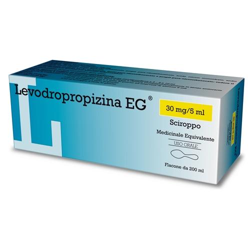 LEVODROPROPIZINA EG*SCIR 200ML - latuafarmaciaonline.it