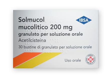 SOLMUCOL MUCOLITICO*30BUST 200 - Farmafirst.it