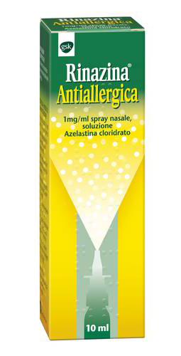 RINAZINA ANTIAL*SPRAY NAS 10ML - Farmacia Castel del Monte
