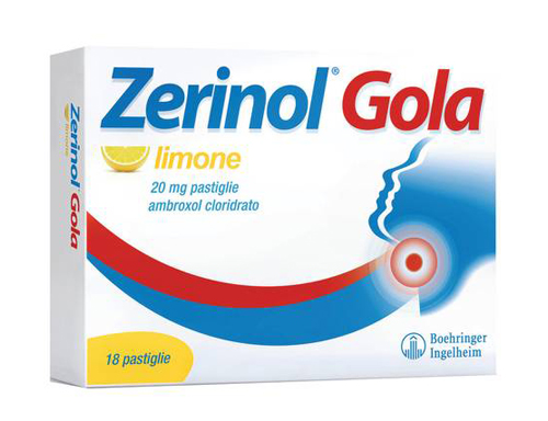 ZERINOL GOLA LIMO*18PAST 20MG - farmaventura.it