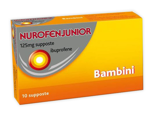 NUROFENJUNIOR*10SUPP 125MG - Farmawing