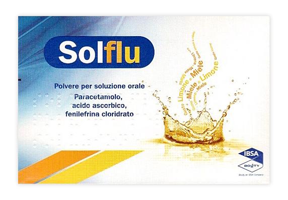 SOLFLU*10BUST 4G LIM MIELE - Spacefarma.it