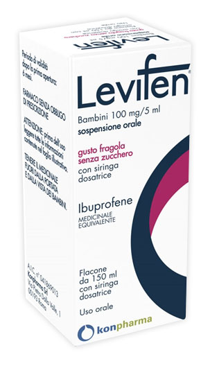 LEVIFEN*OS 150ML 100MG/5ML FRA - FARMAPRIME