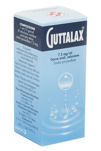 GUTTALAX*OS GTT 15ML 7,5MG/ML - Farmaci.me