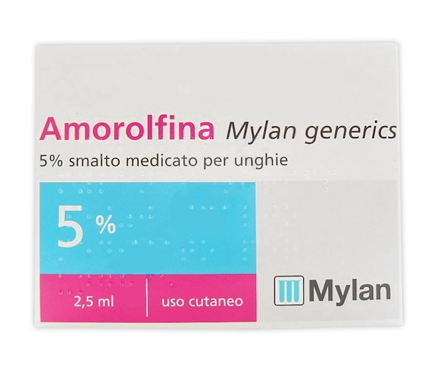 AMOROLFINA MY*SMALTO 2,5ML 5% - Farmafamily.it