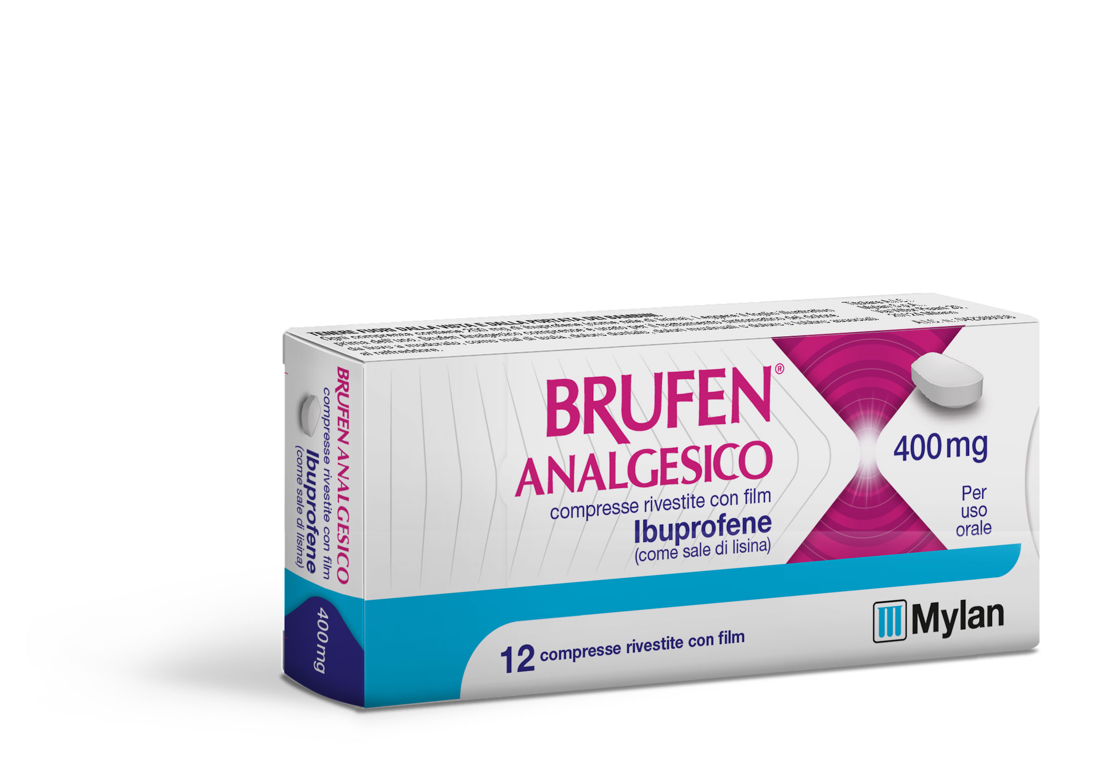 Ibuprofene Mylan 400mg (equivalente Momentact) 12 Compresse Rivestite - Farmajoy