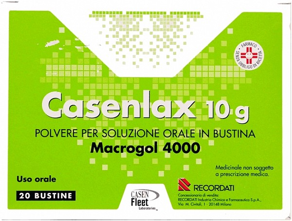CASENLAX*OS POLV 20BUST 10G - Farmafamily.it