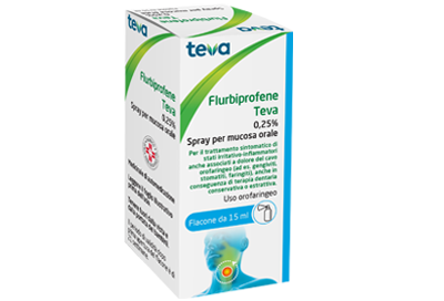 FLURBIPROFENE TE*OS SPRAY 15ML - Farmaciapacini.it