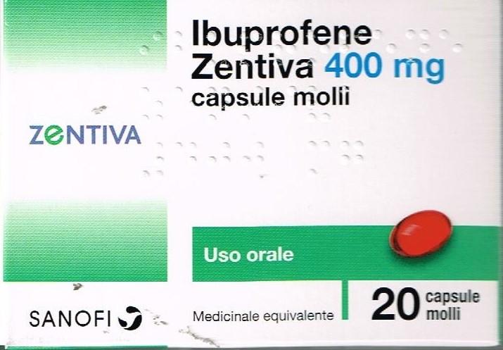 IBUPROFENE ZEN*20CPS MOL 400MG - Farmacia Castel del Monte