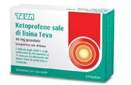 KETOPROFENE LISINA TEVA*24BS - Farmapage.it