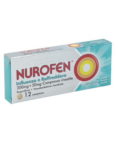 NUROFEN INFLUENZA RAFFR*12CPR - Turbofarma.it