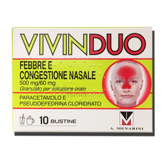 VIVINDUO FEBBRE CONG NAS*10BS - farmaventura.it