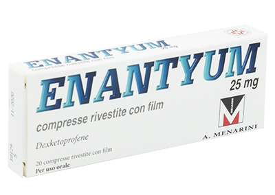 ENANTYUM*20CPR RIV 25MG - Farmapage.it
