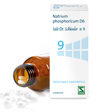SALE DR SCHUSSLER N.9 NAPH*200 - Farmacia33