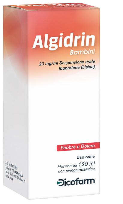 ALGIDRIN*OS 120ML 20MG/ML+SIR - Arcafarma.it