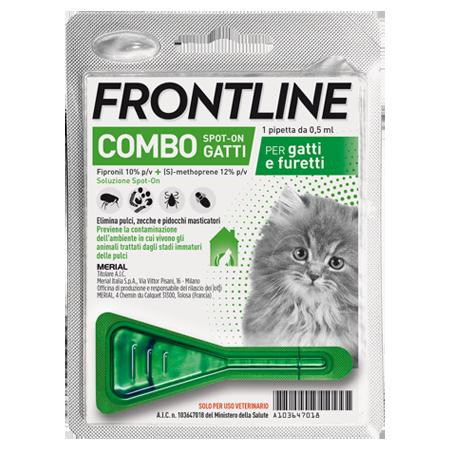 FRONTLINE COMBO*1PIP GATTI/FUR - Farmacia Barni
