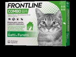 FRONTLINE COMBO*6PIP GATTI/FUR - Farmacia Barni