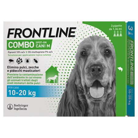 FRONTLINE COMBO*3PIP 10-20KG C - Farmastar.it