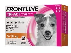 FRONTLINE TRI-ACT*6PIP 5-10KG - Sempredisponibile.it