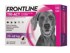 FRONTLINE TRI-ACT*6PIP 20-40KG - Zfarmacia