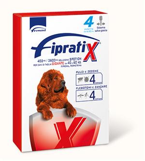 FIPRATIX*4PIP 40-60KG CANI - Zfarmacia