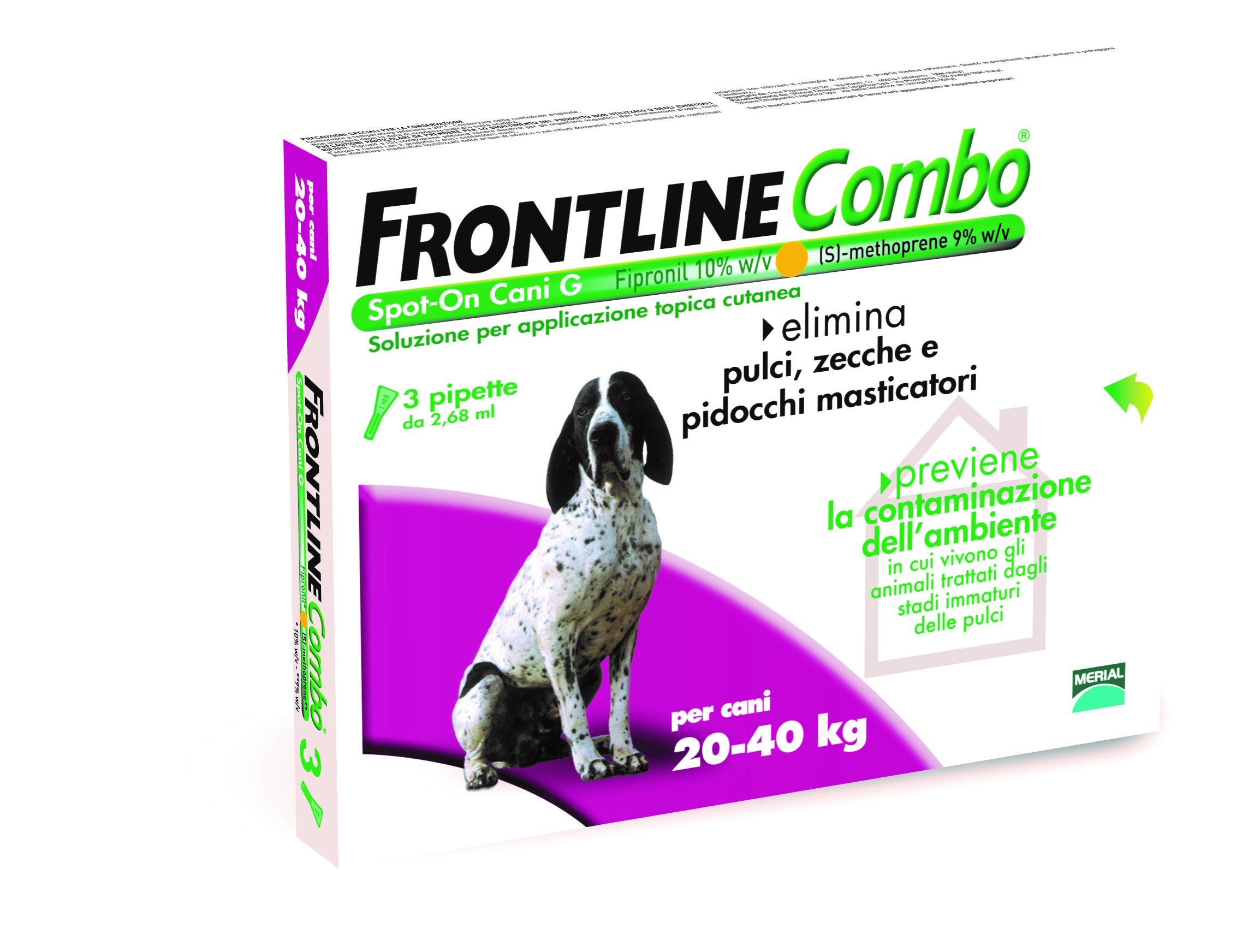 FRONTLINE COMBO*3PIP 20-40KG C - Farmacia Barni