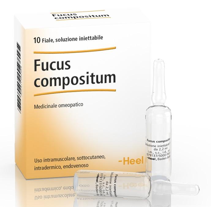 HEEL FUCUS COMPOSITUM 10 FIALE DA 2,2 ML L'UNA - Farmaciacarpediem.it