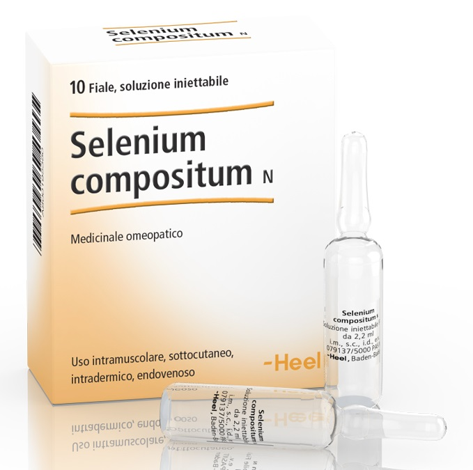 HEEL SELENIUM COMPOSITUM 10 FIALE - Farmaci.me