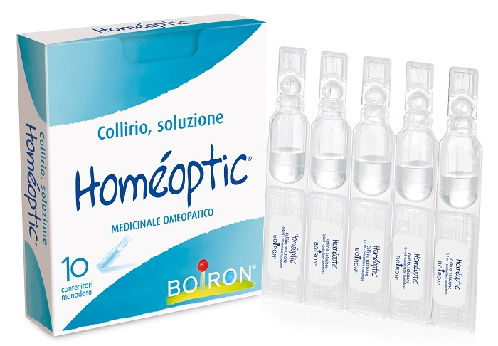 HOMEOPTIC COLLIRIO MONODOSE 10 FIALE 0,4 ML - La farmacia digitale