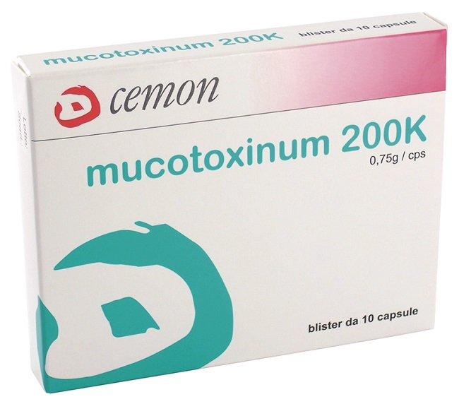 MUCOTOXINUM 200K 10 CAPSULE (CM-I) - Farmastar.it