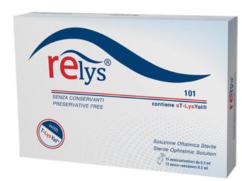 RELYS MONODOSE SOLUZIONE OFTALMICA 15 MINICONTENITORI DA 0,5 ML SENZA CONSERVANTI - Arcafarma.it