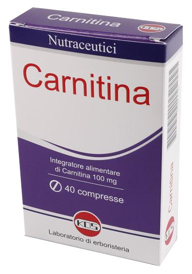 CARNITINA 40 COMPRESSE - DrStebe