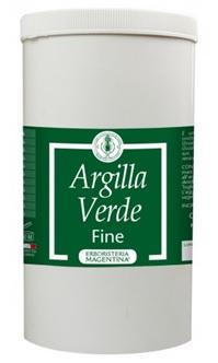 ARGILLA VERDE FINE 1 KG - Farmacia Basso