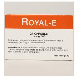 ROYAL E 24 CAPSULE NUOVA FORMULA - Farmaseller