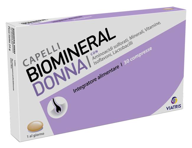 BIOMINERAL DONNA 30 COMPRESSE - Farmafamily.it