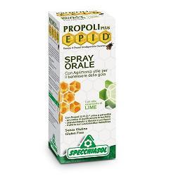 Specchiasol Propoli EPID Spray Orale Difesa Vie Respiratorie Gusto Lime 15 ml - latuafarmaciaonline.it