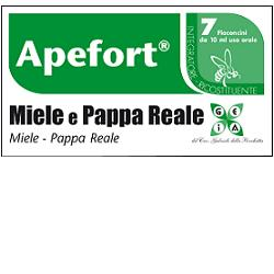 APEFORT MIELE PAPPA REALE 7 FLACONCINI 10 ML - Farmagolden.it