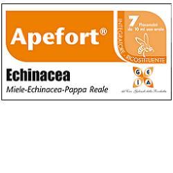 APEFORT ECHINACEA SCIROPPO 7 FLACONCINI 10 ML - Farmagolden.it